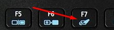 Touchpad Disable Fn Key